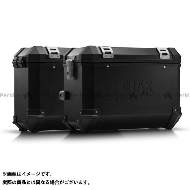 SW-MOTECH CRF1000Lアフリカツイン ツーリング用ボックス TRAX ION アルミ ケースシステム -ブラック- 45/37 l. CRF1000L Africa Twin(15-17). KFT.01.622.5 SWモテック