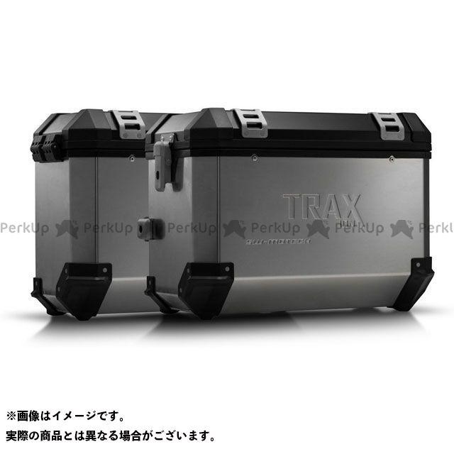SW-MOTECH CRF1000Lアフリカツイン ツーリング用ボックス TRAX ION アルミ ケースシステム-シルバー-45/37 l. CRF1000L Africa Twin(15-17). KFT.01.622.500 SWモテック