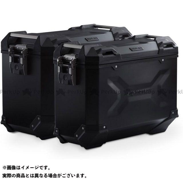 【エントリーで更にP5倍】SW-MOTECH CRF1000Lアフリカツイン ツーリング用ボックス TRAX ADV アルミ ケースシステム -ブラック- 45/37 l. CRF1000L Africa Twin(15-17).|KFT.01.622…