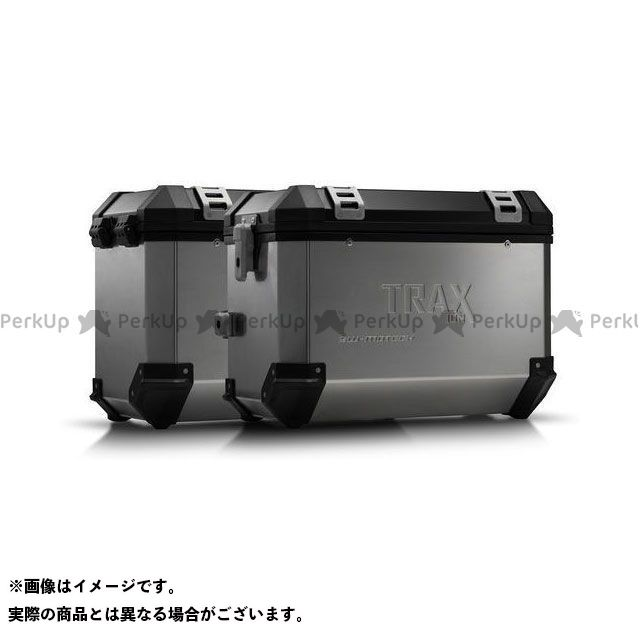 SW-MOTECH VFR1200X・クロスツアラー ツーリング用ボックス TRAX ION アルミ ケースシステム-シルバー-45/45 l. Honda Crosstourer(11-).|KFT.01.660.50101/S SWモテック
