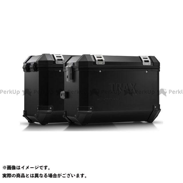 SW-MOTECH NC750S NC750X ツーリング用ボックス TRAX(トラックス)ION アルミケースシステム ブラック 45/45 L. Honda NC 750X/750S(16-)|KFT.01.699 SWモテック