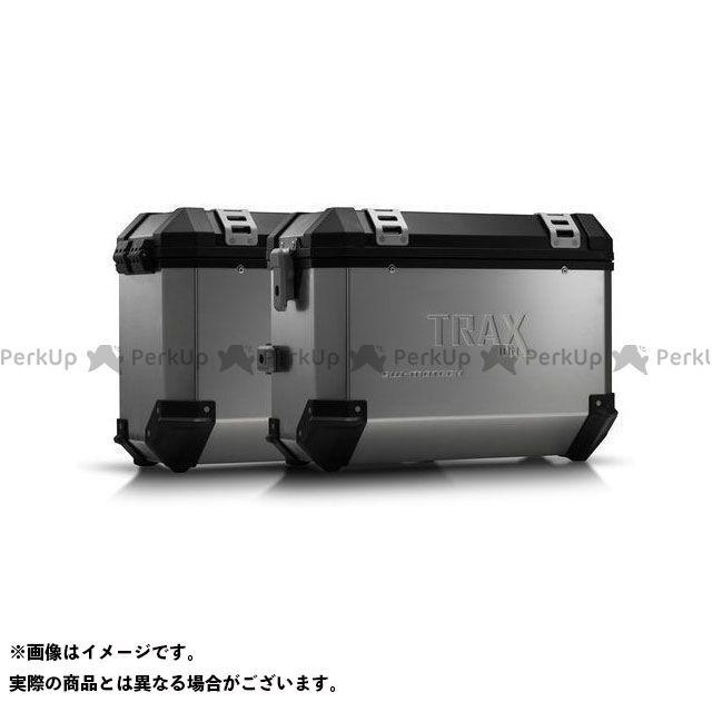 SW-MOTECH CB500F CBR500R ツーリング用ボックス TRAX ION アルミ ケースシステム-シルバー-37/37 l. Honda CB500F/CBR500R(16-). KFT.01.742.500 SWモテック
