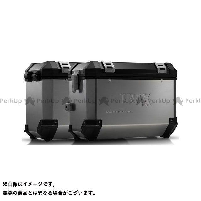 SW-MOTECH CB500F CBR500R ツーリング用ボックス TRAX(トラックス)ION アルミケースシステム シルバー 45/45 L. Honda CB500F/CBR500R(16-)|KFT.01.7 SWモテック