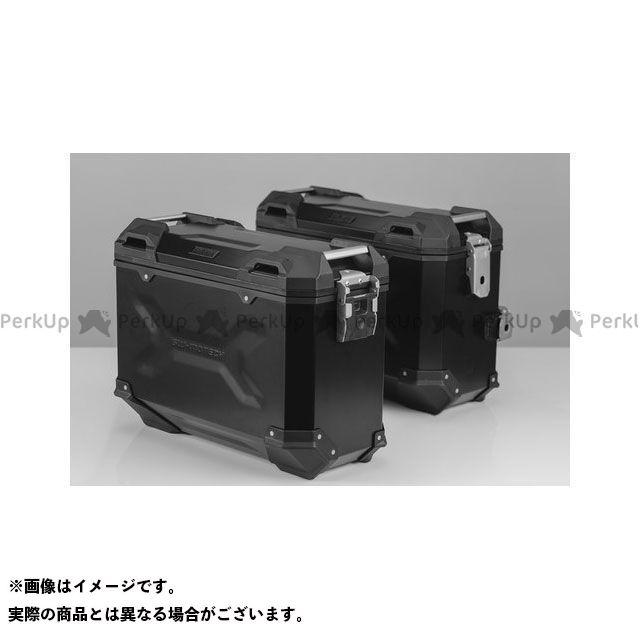 SW-MOTECH CB500F CBR500R ツーリング用ボックス 【トラックス ADV】 アルミニウム パニアシステムセット、ブラック 37/37 l Honda CB500F/CBR500R(16-) SWモテック