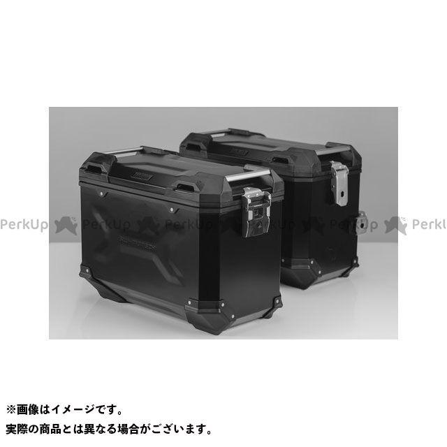 SW-MOTECH CB500F CBR500R ツーリング用ボックス 【トラックス ADV】 アルミニウム パニアシステムセット、ブラック 45/45 l Honda CB500F/CBR500R(16-) SWモテック