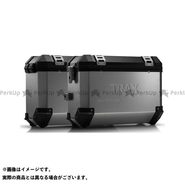 SW-MOTECH TR 650ストラーダ TR 650テラ ツーリング用ボックス TRAX(トラックス)ION アルミケースシステム シルバー 37/37 L. Husqvarna TR 650 Terra/Strada.|KFT. SWモテック