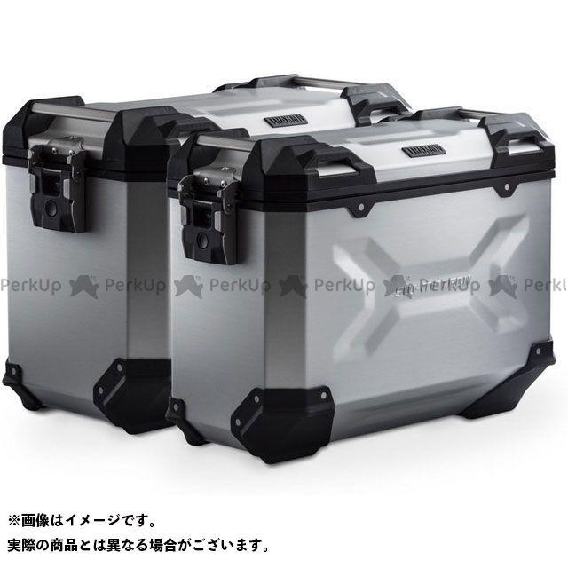 SW-MOTECH ツーリング用ボックス TRAX ADV アルミ ケースシステム-シルバー-45/37 l. KTM 1050/1090/1190 Adv、1290 SAdv|KFT.04.333. SWモテック