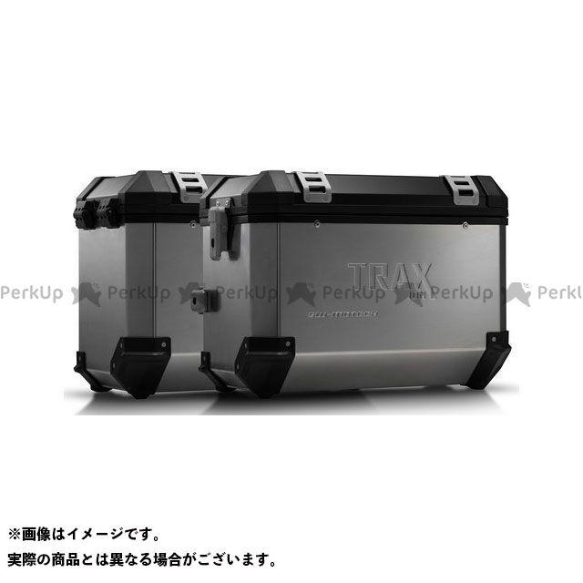 SW-MOTECH 990 SM R 990 SM T その他のモデル ツーリング用ボックス TRAX(トラックス)ION アルミケースシステム シルバー45/45 L. KTM 990 SM/SM-T/SM-R/950 SM.|KFT SWモテック
