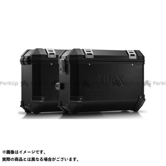 SW-MOTECH Vストローム1000 その他のモデル ツーリング用ボックス TRAX(トラックス)ION アルミケースシステム ブラック 37/37 l. Suzuki DL1000/Kawasaki KLV1000|KF SWモテック