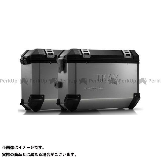 SW-MOTECH Vストローム1000 その他のモデル ツーリング用ボックス TRAX(トラックス)ION アルミケースシステム シルバー 37/37 L. Suzuki DL1000/Kawasaki KLV1000.|KFT SWモテック