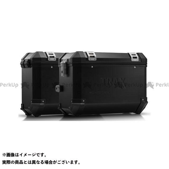 SW-MOTECH Vストローム650XT ツーリング用ボックス TRAX(トラックス)ION アルミケースシステム ブラック 45/37 l. Suzuki DL 650 V-Strom(11-)|KFT.05. SWモテック