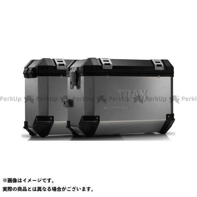 SW-MOTECH Vストローム650XT ツーリング用ボックス TRAX(トラックス)ION アルミケースシステム シルバー 45/37 l. Suzuki DL 650 V-Strom(11-)|KFT.05. SWモテック