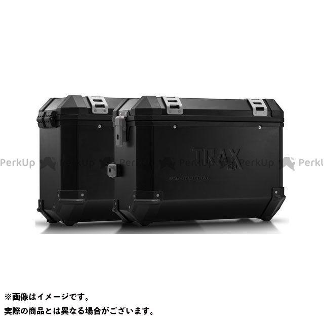 SW-MOTECH Vストローム650XT ツーリング用ボックス TRAX(トラックス)ION アルミケースシステム ブラック 37/37 L. Suzuki DL 650(17-)|KFT.05.876.50 SWモテック