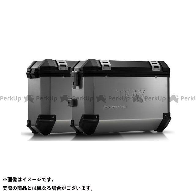 SW-MOTECH Vストローム650XT ツーリング用ボックス TRAX(トラックス)ION アルミケースシステム シルバー 37/37 L. Suzuki DL 650(17-) KFT.05.876.50001/ SWモテック