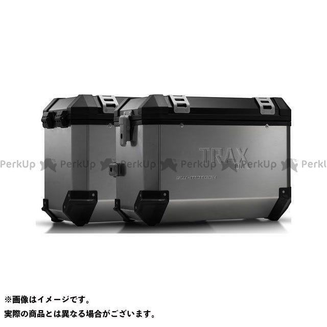 SW-MOTECH Vストローム650XT ツーリング用ボックス TRAX(トラックス)ION アルミケースシステム シルバー 45/45 L. Suzuki DL 650(17-)|KFT.05.876.50101/ SWモテック