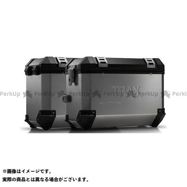 SW-MOTECH MT-07 ツーリング用ボックス TRAX(トラックス)ION アルミケースシステム シルバー 45/45 L. Yamaha MT-07 Tracer(16-)|KFT.06.593. SWモテック