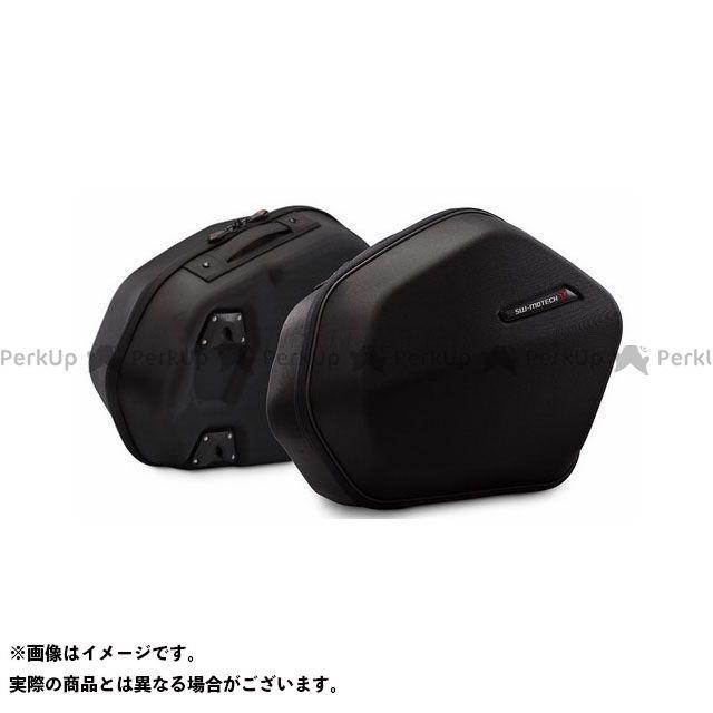 SW-MOTECH MT-07 ツーリング用ボックス AERO ABS サイドケースシステム ABS/600D HCF Polyester Yamaha MT-07 Tracer(16-) SWモテック