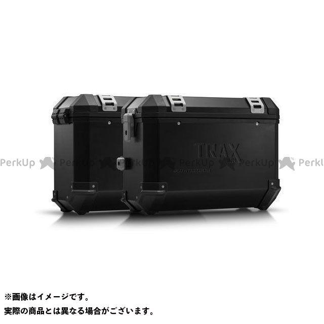 SW-MOTECH トレーサー900・MT-09トレーサー ツーリング用ボックス TRAX ION アルミ ケースシステム -ブラック- 37/37 l. MT-09 Tracer/Tracer 900GT(18-).|KFT.06.87 SWモテック