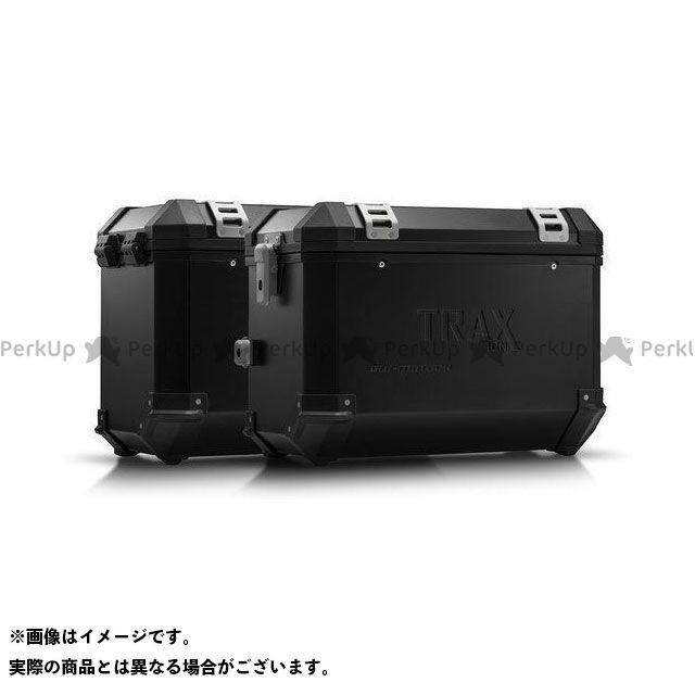 SW-MOTECH トレーサー900・MT-09トレーサー ツーリング用ボックス TRAX ION アルミ ケースシステム -ブラック- 45/45 l. MT-09 Tracer/Tracer 900GT(18-).|KFT.06.87 SWモテック