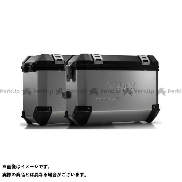 SW-MOTECH R1100GS R1150GS R1150GSアドベンチャー ツーリング用ボックス TRAX(トラックス)ION アルミケースシステム シルバー 37/45 l. BMW R 1100/1150 GS.|KFT.07.093.500…