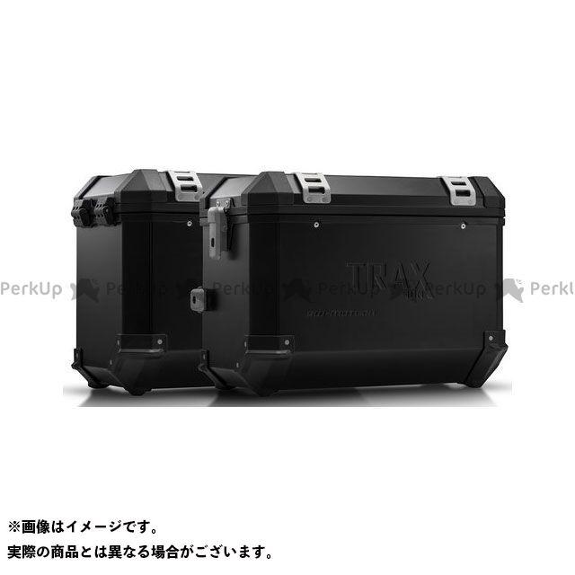 SW-MOTECH ツーリング用ボックス TRAX(トラックス)ION アルミケースシステム ブラック 45/45 l. BMW F650GS(-07)/G650GS(11-)|KFT SWモテック