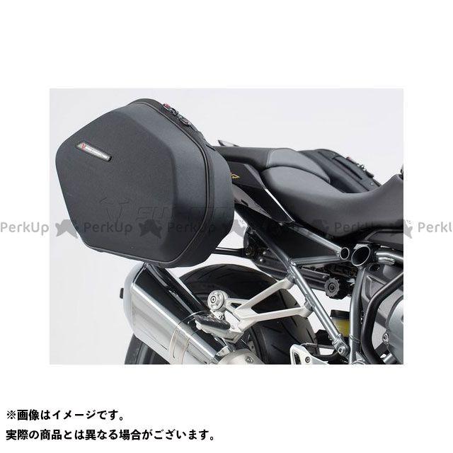 SW-MOTECH R1200R R1200RS R1250R ツーリング用ボックス AERO ABS サイドケースシステム ABS/600D HCF ポリエステル、BMW R 1200 R(15-) SWモテック