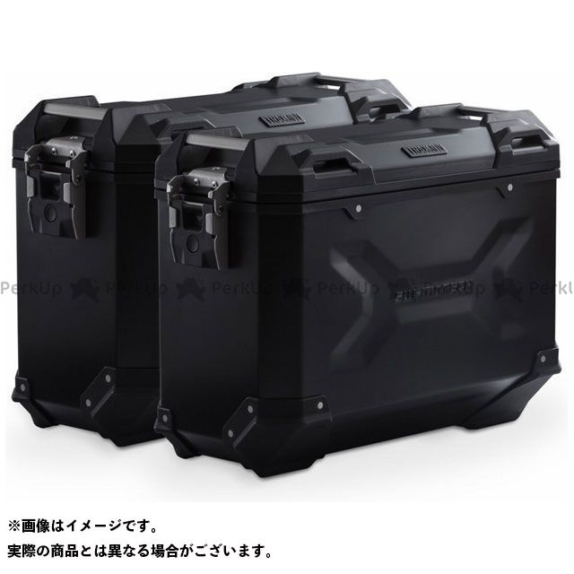 SW-MOTECH R1200R R1200RS R1250R ツーリング用ボックス TRAX ADV(トラックス エーディーブイ)アルミニウムケースシステム|KFT.07.573.70000/B SWモテック