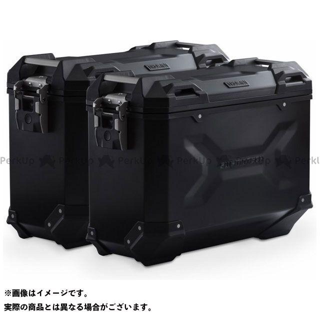 SW-MOTECH S1000XR ツーリング用ボックス TRAX(トラックス)ADV パニアシステム ブラック 37/37 L. BMW S 1000 XR(15-) SWモテック