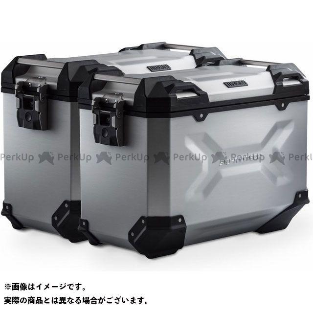 SW-MOTECH S1000XR ツーリング用ボックス TRAX(トラックス)ADV パニアシステム シルバー 45/45 l. BMW S 1000 XR(15-) SWモテック