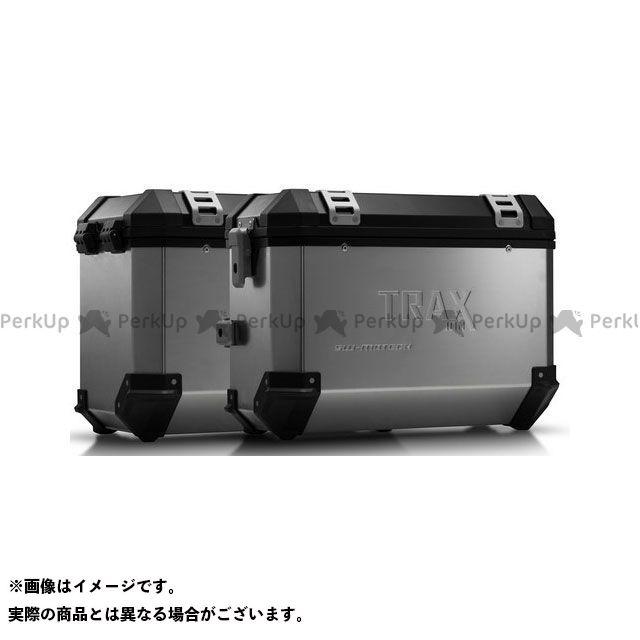 SW-MOTECH F800GT F800R ツーリング用ボックス TRAX(トラックス)ION アルミケースシステム シルバー 37/45 l. BMW F800 R(09-)/F800GT(12-16)|KFT.0 SWモテック