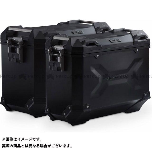 SW-MOTECH F750GS F850GS F850GSアドベンチャー ツーリング用ボックス TRAX ADV アルミ ケースシステム -ブラック- 45/37 l. BMW F 750/850 GS(18-).|KFT.07.897.70000 …