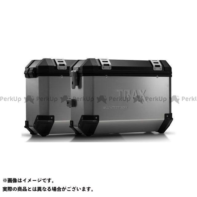 SW-MOTECH ヴェルシス1000 ツーリング用ボックス TRAX(トラックス)ION アルミケースシステム シルバー 37/37 L. Kawasaki Versys 1000(12-14)|KFT.08.3 SWモテック