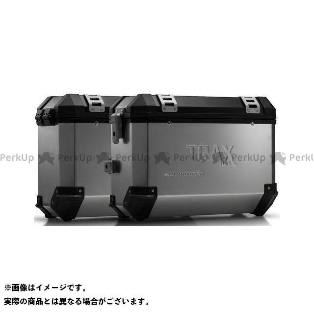SW-MOTECH ヴェルシス650 ツーリング用ボックス TRAX(トラックス)ION アルミケースシステム シルバー 37/37 L. Kawasaki Versys 650(15-)|KFT.08.518. SWモテック