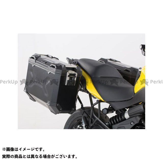 SW-MOTECH ヴェルシス650 ツーリング用ボックス TRAX(トラックス)ADV パニアシステム ブラック 37/37 L、Kawasaki Versys 650(15-) SWモテック