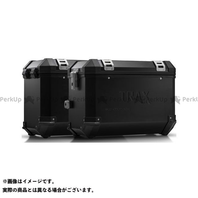 SW-MOTECH ヴェルシス1000 ツーリング用ボックス TRAX(トラックス)ION アルミケースシステム ブラック 45/45 L. Kawasaki Versys 1000(15-16) KFT.08.7 SWモテック