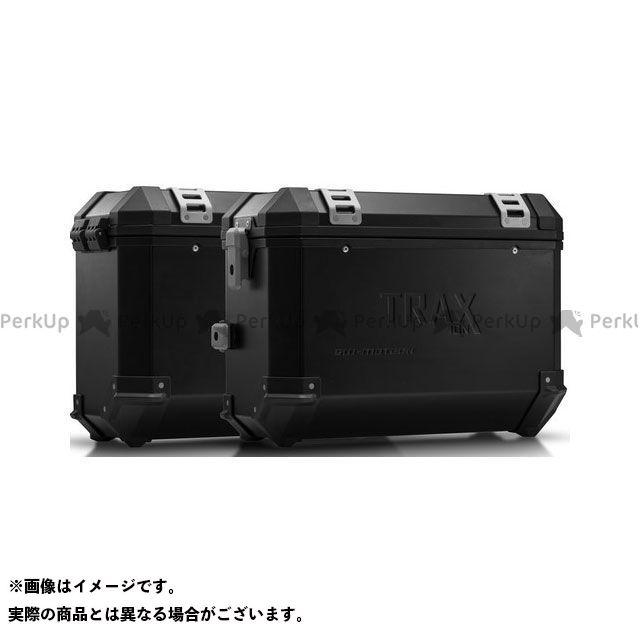 SW-MOTECH ヴェルシス650 ツーリング用ボックス TRAX(トラックス)ION アルミケースシステム ブラック 37/37 l. Kawasaki Versys 650(07-14)|KFT.08. SWモテック