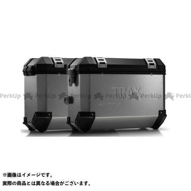 SW-MOTECH ヴェルシス650 ツーリング用ボックス TRAX(トラックス)ION アルミケースシステム シルバー 37/37 L. Kawasaki Versys 650(07-14) KFT.08.72 SWモテック