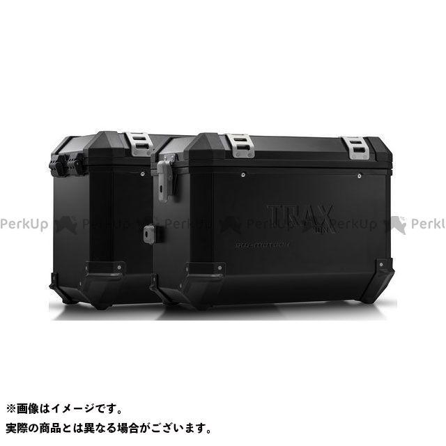 SW-MOTECH ヴェルシス650 ツーリング用ボックス TRAX(トラックス)ION アルミケースシステム ブラック 45/45 l. Kawasaki Versys 650(07-14)|KFT.08. SWモテック