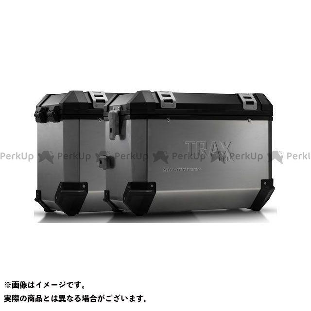 【エントリーで更にP5倍】SW-MOTECH ヴェルシス650 ツーリング用ボックス TRAX(トラックス)ION アルミケースシステム シルバー 45/45 L. Kawasaki Versys 650(07-14)|KFT.08.72 SWモテック