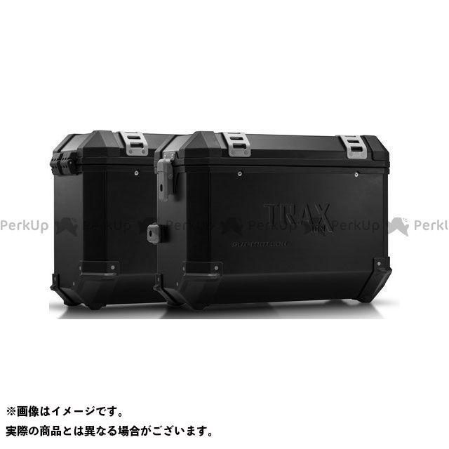 SW-MOTECH ツーリング用ボックス TRAX(トラックス)ION アルミケースシステム ブラック 37/37 L. Triumph Tiger 1200 Explorer(11-)|KFT SWモテック