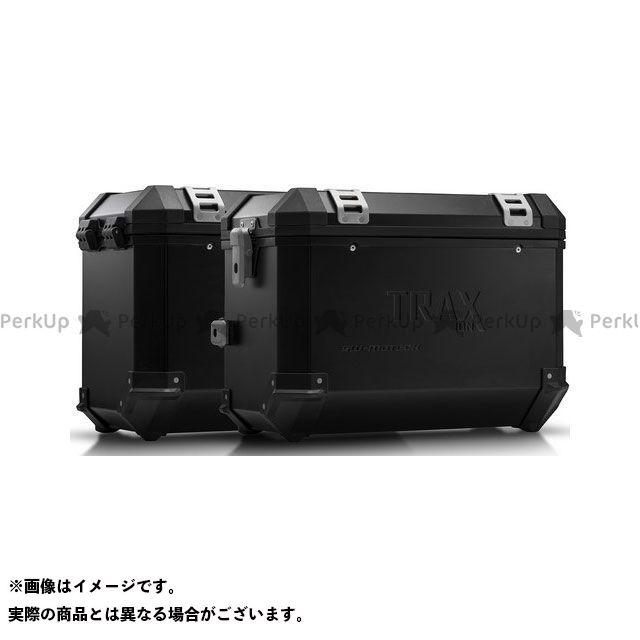 SW-MOTECH ツーリング用ボックス TRAX(トラックス)ION アルミケースシステム ブラック 45/45 l. Triumph Tiger1200 Explorer(11-) KF SWモテック