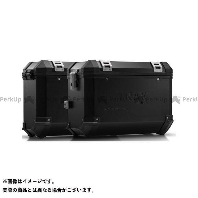 SW-MOTECH タイガー1050 ツーリング用ボックス TRAX(トラックス)ION アルミケースシステム ブラック 45/37 l. Triumph Tiger 1050(06-12)|KFT.11.6 SWモテック