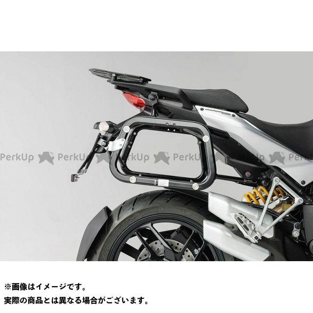 SW-MOTECH ムルティストラーダ1200 ムルティストラーダ1200S ツーリング用ボックス QUICK-LOCK(クイックロック)EVO サイドケースキャリアー ブラック SWモテック