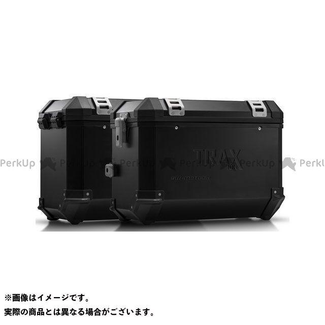 SW-MOTECH ムルティストラーダ1200 ムルティストラーダ1200S ツーリング用ボックス TRAX(トラックス)ION アルミケースシステム ブラック 45/45 L. ムルティストラーダ 1200/S(10-14)|KFT.22.140 S…