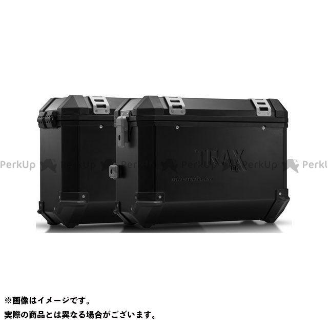 SW-MOTECH その他のモデル ツーリング用ボックス TRAX(トラックス)ION アルミケースシステム ブラック 37/37 L. Zero DSR(15-)|KFT.29.860.50001/B SWモテック