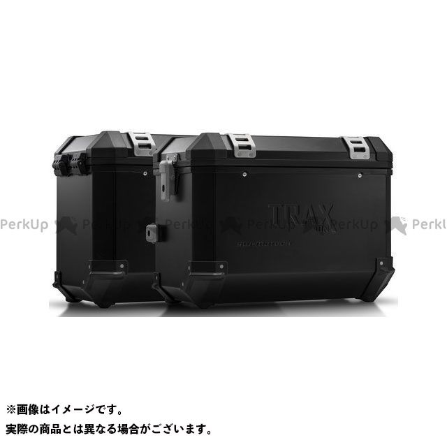 SW-MOTECH その他のモデル ツーリング用ボックス TRAX(トラックス)ION アルミケースシステム ブラック 45/45 L. Zero DSR(15-) KFT.29.860.50101/B SWモテック