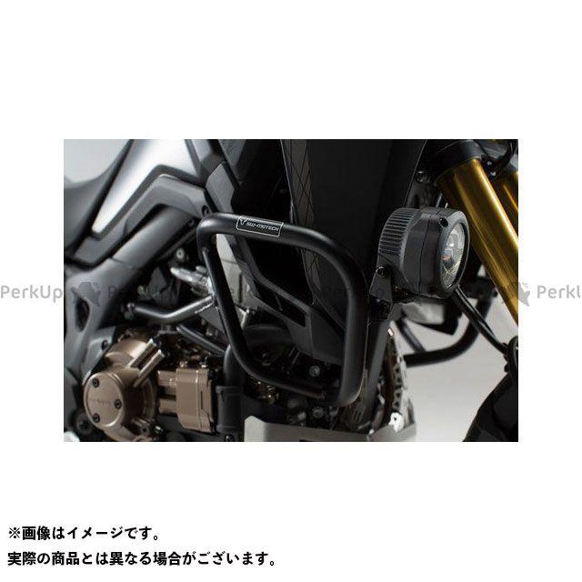 【エントリーで最大P21倍】SW-MOTECH CRF1000Lアフリカツイン スライダー類 クラッシュバー ブラック Honda CRF 1000 L アフリカツイン(15-) SWモテック