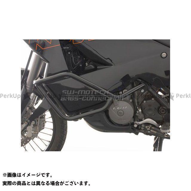 SW-MOTECH 950アドベンチャー 990アドベンチャー スライダー類 クラッシュバー LC8 Adventure 950/990 ブラック SWモテック