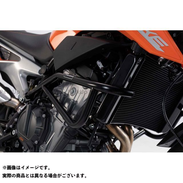 SW-MOTECH 790デューク スライダー類 クラッシュバー -ブラック- KTM 790 Duke(18-). SBL.04.641.10000/B SWモテック