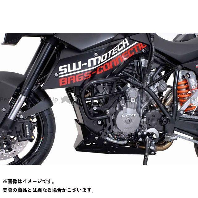 【エントリーで更にP5倍】SW-MOTECH 990 SM R 990 SM T その他のモデル スライダー類 クラッシュバー -ブラック- KTM 990 SM/SM-T/SM-R SWモテック